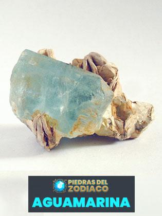 Piedra del Zodiaco Aguamarina