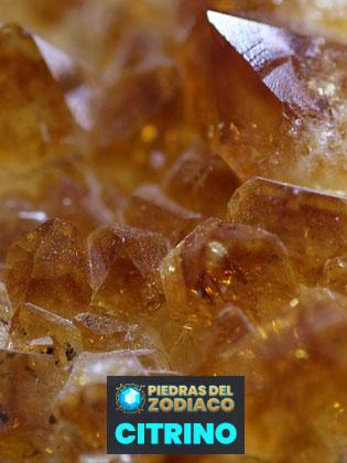 Piedra del Zodiaco Citrino - Dieter444 para Pixabay.com