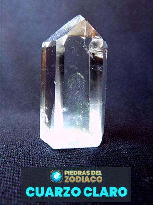 Piedra del Zodiaco Cuarzo Claro - alusruvi para Pixabay.com