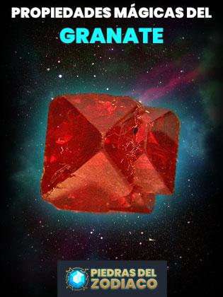 Propiedades Mágicas del Granate